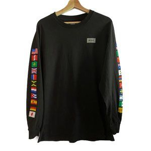 HUF Flags Long Sleeve Shirt